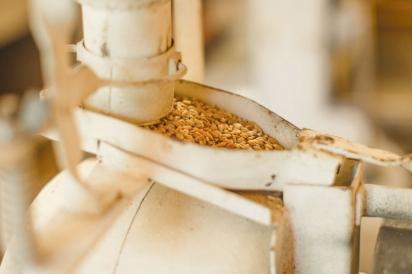 Tabletop wheat grinder