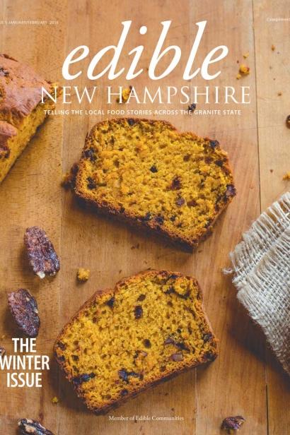 Edible New Hampshire, Issue #5, January/February 2016