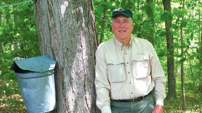 George Gavutis of Hemlock Hollow Maple Farm