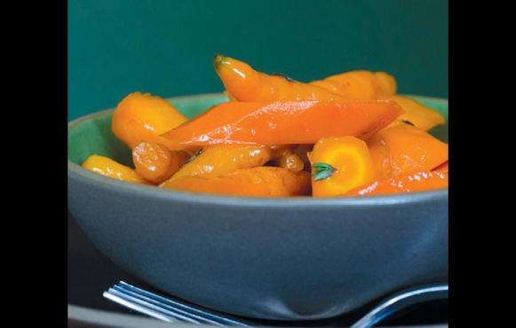 Brown Sugar-Glazed Carrots