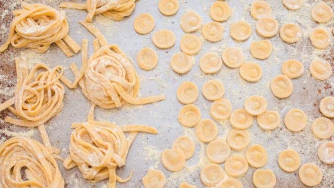 Homemade Fresh Pasta Dough