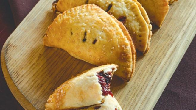 Mock Cherry Hand Pie