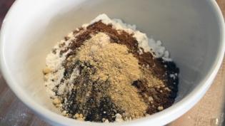 Ingredients for pepparkakor spice cookies